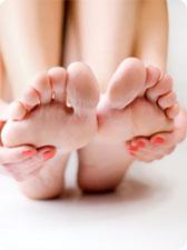 Objectif jolis pieds en bonne santé