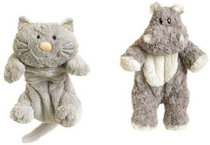 Bouillotes peluches
