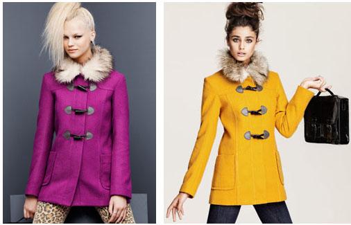 Manteaux colorés H&M