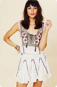 Robe bohême Free People