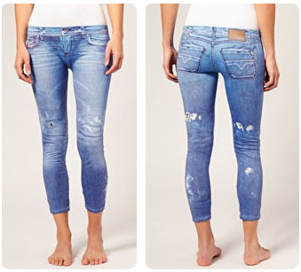 Legging jean Diesel