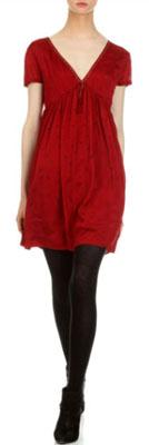 Robe en coton rouge I Code IKKS