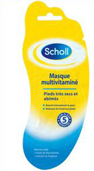 Masque multivitaminé Scholl