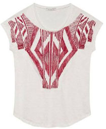 Tee-shirt ethnique Sandro