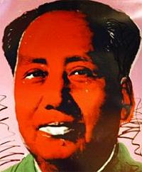 Portrait de Mao Andy Warhol