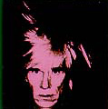 Andy Warhol autoportrait