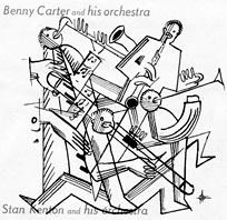 Affiche Stan Kenton orchestra 1949