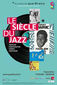 Affiche expo siecle du jazz