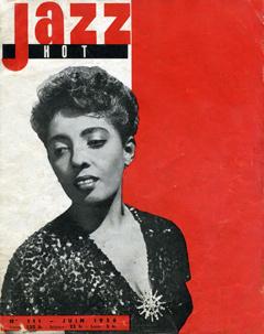 Couverture Jazz hot Juin 1956