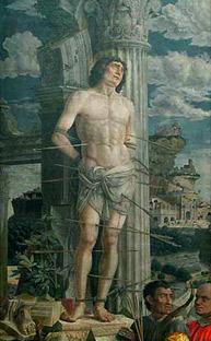 Saint Sebastien - Mantegna