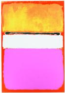 Peinture contemporaine Mark Rothko vendue aux enchères