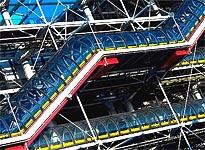 Anniversaire du centre George Pompidou Beaubourg