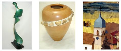Peinture, poterie, sculpture