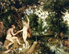 Le Paradis Adam et Eve Peter Paul Rubens