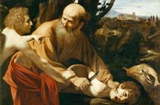 Le Sacrifice d'Isaac Le caravage