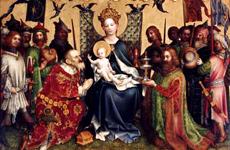 Peinture cathédrale de Cologne
