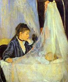 Le berceau peinture Berthe Morisot
