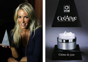 Ophelie Winter et les produits Oceange