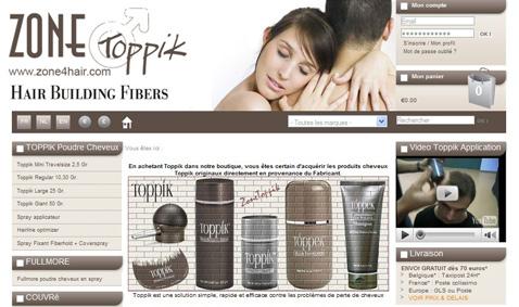 Boutique en ligne produits Toppek, Revivogen