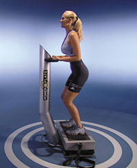 la power plate en action