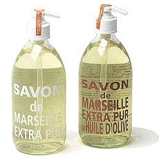 savons de marseille liquides