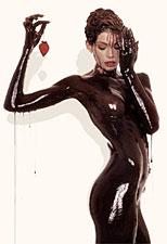 Bain de chocolat pour la peau