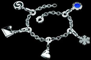 Bracelet breloques Bulgari
