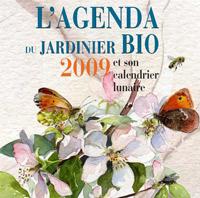 Agenda 2009 jardin bio calendrier lunaire
