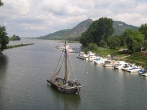 Les eaux du Rhin