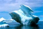 Une conséquence du réchauffement climatique : la fonte de la calote glacière aux pôles
