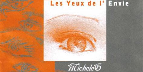 recueil de poèmes de Micheleg les yeux de l'envie