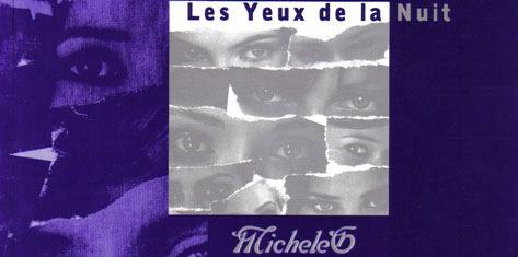 recueil de poèmes de Micheleg les yeux de la nuit