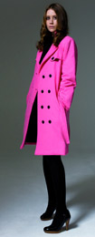 Manteau rose femme, article 23