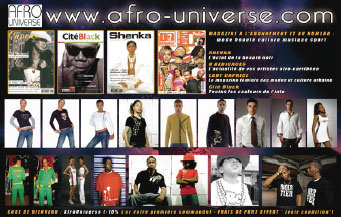 Les magazines Afro Universe