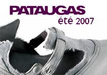 Mode chaussure, été 2007 ballerines, boots et tennis Pataugas