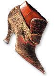 Romans capitale de la chaussure