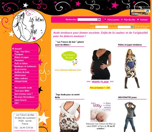 Boutique mode femme enceinte