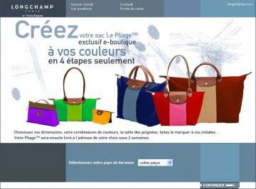Créez votre sac Longchamp