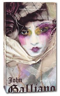 Packaging parfum J Galliano