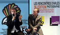 Christian Lacroix conference presse arles