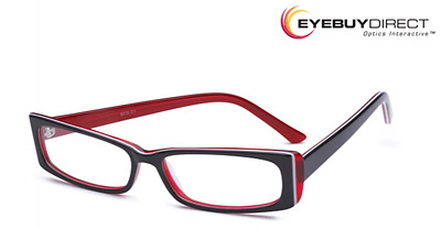 Modele lunettes vue rouge