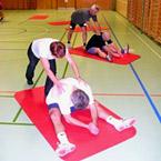 Cours de gymnastique en salle
