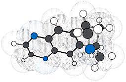 Molécule de varenicline, composant du Champix
