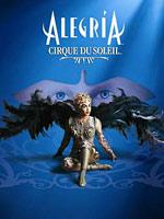 Alegria, acrobaties du cirque du soleil