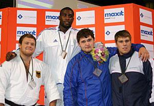 Tessy Riner médaillé aux championnats d'Europe