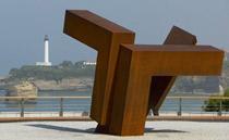Biarritz et son phare
