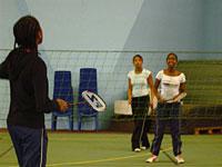 Badminton sport prefere des adolescents