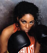 J Mary Moore championne américaine de boxe féminine