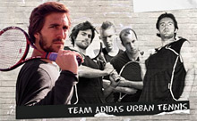 La team Adidas Urban Tennis
