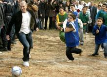 Ziziu en Algerie, Fondation Adidas